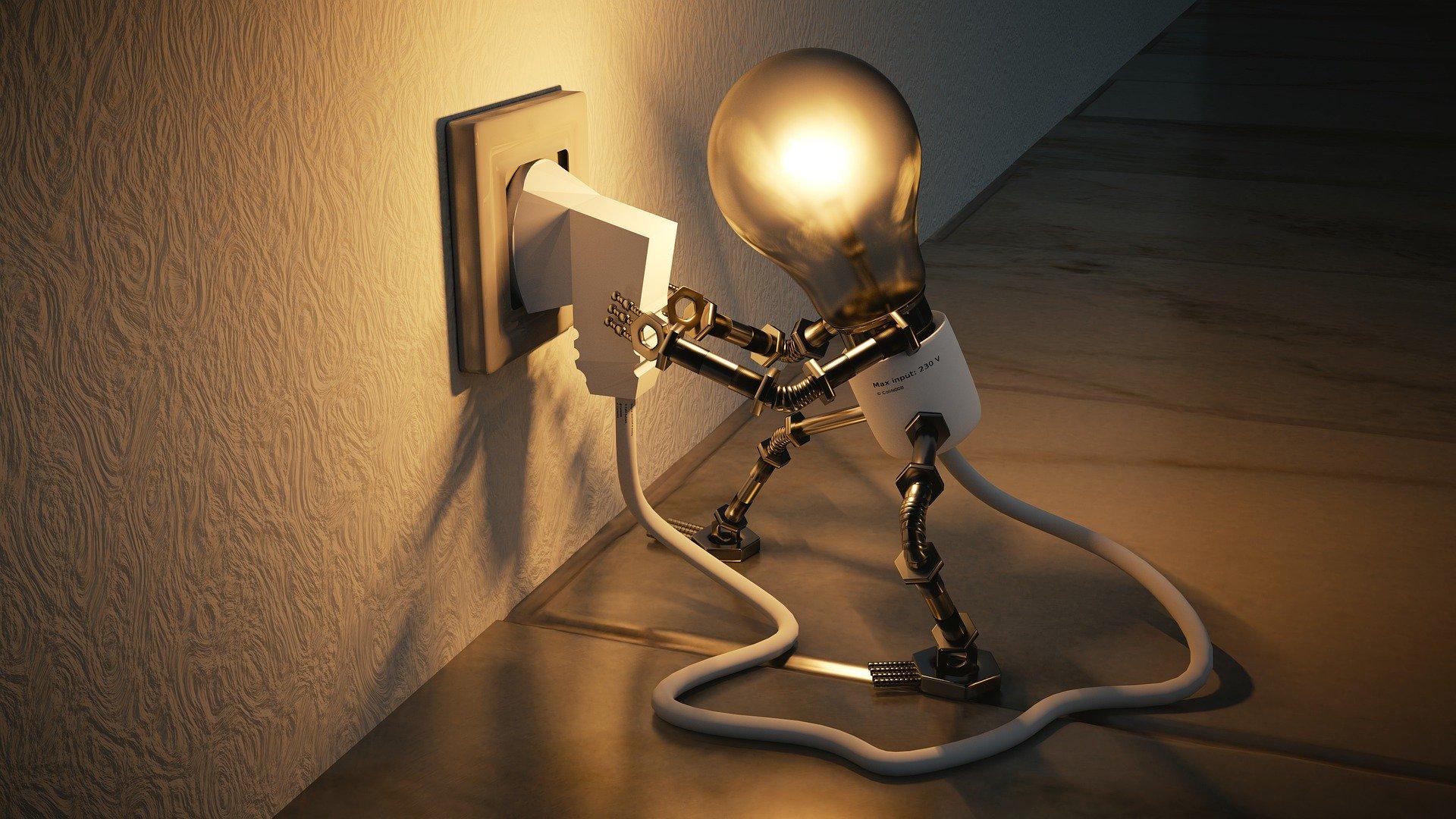fabbisogno energetivo (lampadina)