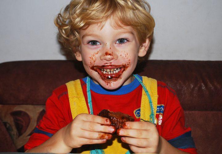 bambino cioccolato